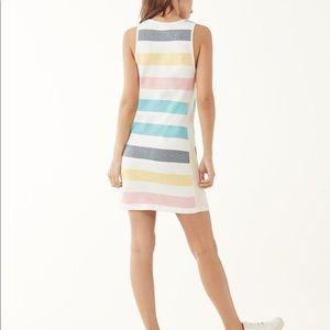 Splendid X Gray Malin Striped Shoreline Dress M